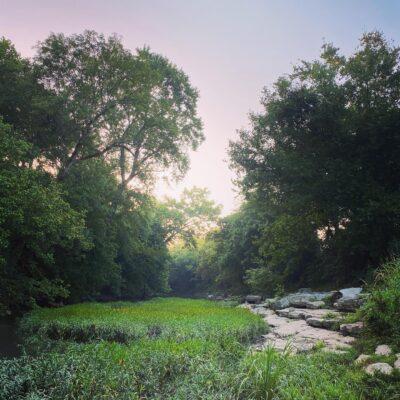 Dawn at the Harpeth River